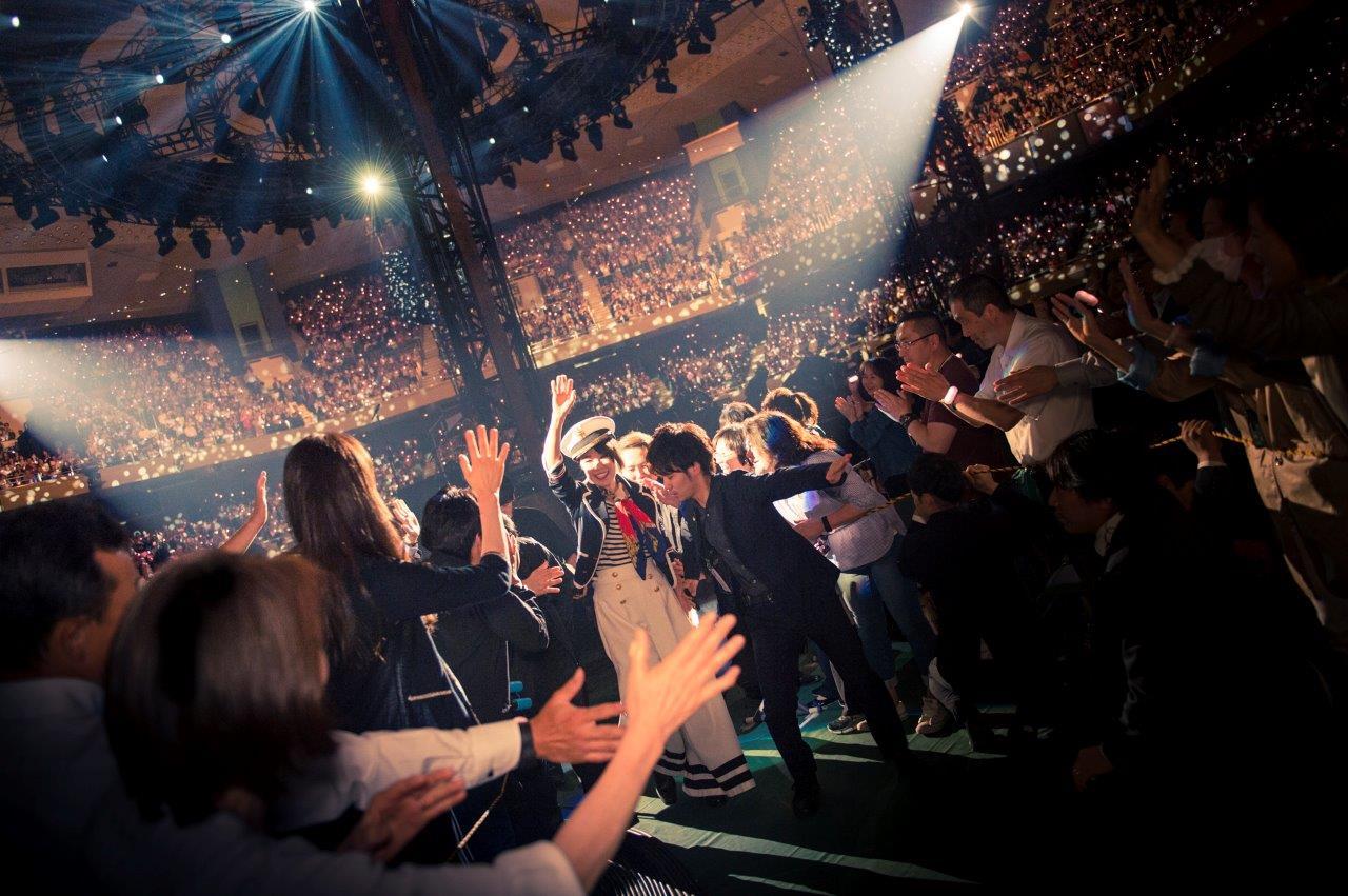 松任谷由実 全国アリーナツアー「タイムマシーンツアー」 全40公演、平成から令和へ跨ぎ、40万人動員 ツアーファイナル 5月15日、16日 日本武道館 2DAYS  新たな歴史を刻み大盛況のうち終了