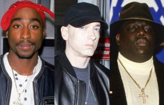 Eminem、2Pac