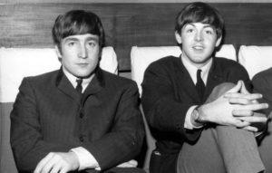 Paul McCartneyとJohn Lennon