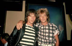 Rod StewartとJeff Beck