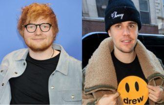 Justin Bieber、Ed Sheeran