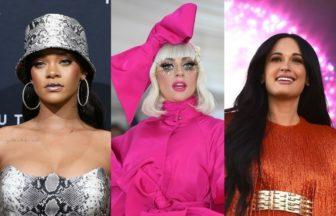 Lady Gaga、Rihanna、Kacey Musgraves