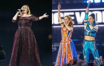Adele、Spice Girls