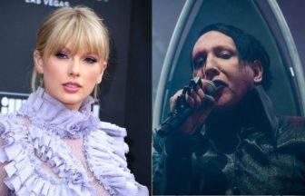 Taylor Swift、Marilyn Manson