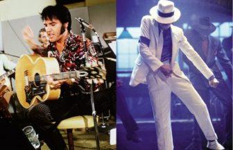 Elvis PresleyとMichael Jackson