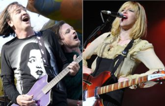 Redd Kross、Courtney Love