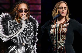 AdeleとBeyonceとColdplay