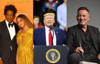 BeyonceやJay-Z、Bruce Springsteen