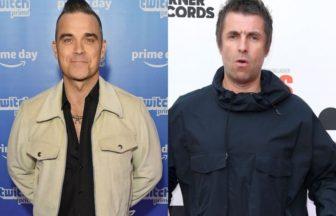 Robbie Williams、Liam Gallagher