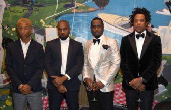 Jay-Z、Kanye West、Pharrell Williams