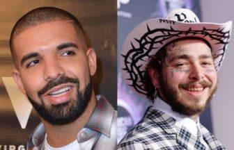 Drake、Post Malone