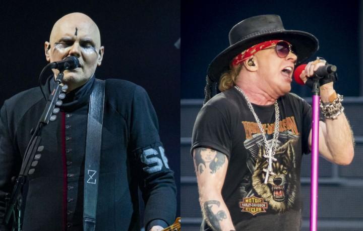 Smashing Pumpkins、Guns N' Roses