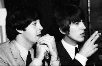 Paul McCartney、George Harrison