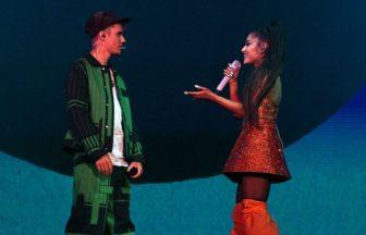 Justin BieberとAriana Grande