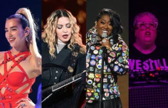 Dua Lipa、MadonnaとMissy Elliott