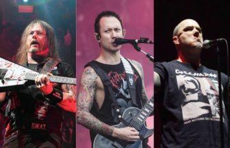 Slayer、Mastodon、Trivium