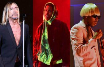Iggy Pop、A$AP Rocky、Tyler The Creator