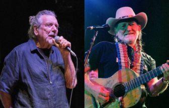 Robert Plant、Willie Nelson