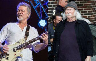 David Crosby、Edward Van Halen