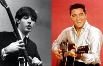Paul McCartney、Elvis Presley
