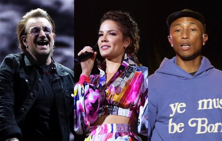 Bono&Halsey&Pharrell Williams