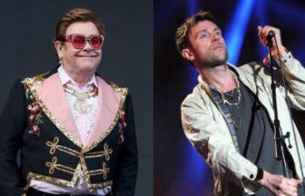 Elton John、Damon Albarn