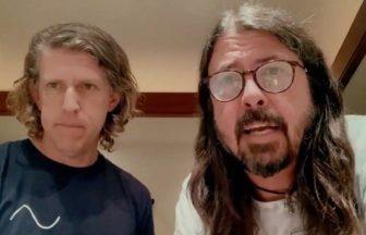 Dave GrohlとGreg Kurstin