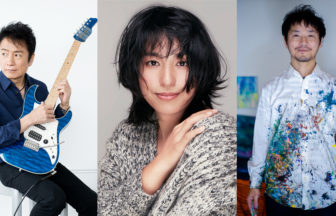 福原みほ(Singer) × 鳥山雄司(Guitarist) × 近藤康平(Artist)