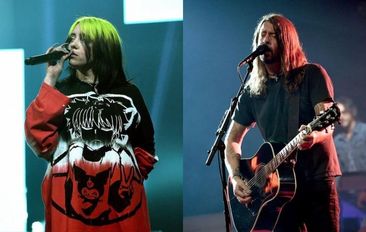 Foo FightersとBillie Eilish