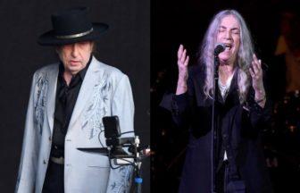 Patti Smith、Bob Dylan