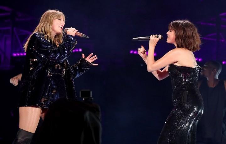 Selena Gomez、Taylor Swift