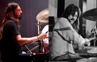Dave Grohl、John Bonham