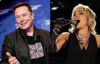 Elon MuskとMiley Cyrus