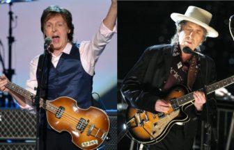 Paul McCartney、Bob Dylan