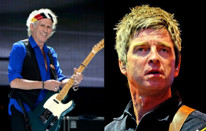 Noel Gallagher、Keith Richards