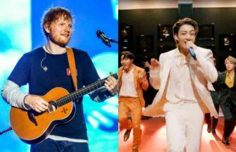 BTS、Ed Sheeran