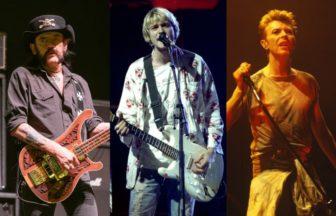 Kurt CobainやDavid Bowie