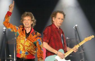 Mick JaggerとKeith Richards