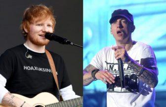 Ed Sheeran、Eminem