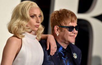 Lady GagaとElton John