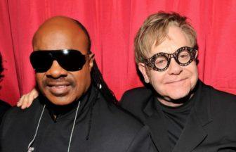 Elton JohnとStevie Wonder